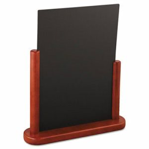 Deflect-o Securit Table Boards, Mahogany Frame, Each (DEFELEMLA)