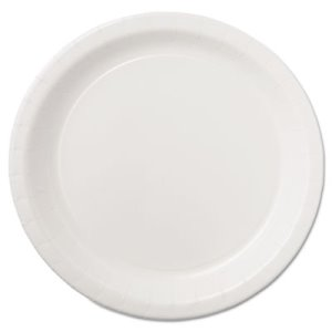 "Hoffmaster Coated Paper Dinnerware, Plate, 9"", White (HFM PL7095)"