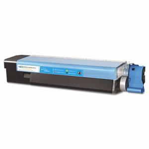 Media Sciences MDA40034 Compatible New Build Toner, 6,000 Yield, Cyan (MDA40034)