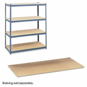 Safco Particleboard Shelves for Steel Pack Archival Shelving, 69w x 33d, Box of 4 (SAF5261)