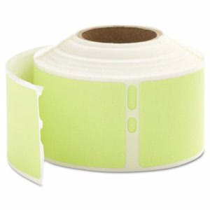 Dymo LabelWriter Address Labels, 1-1/8 x 3-1/2, Yellow, 130 Labels/Roll, 1 Roll/Box (DYM30255)