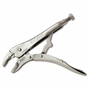 "Irwin Original Curved-Jaw/Cutter Locking Pliers, 10"" Tool Length, 1 7/8"" Jaw Capacity (VSE10WR3)"