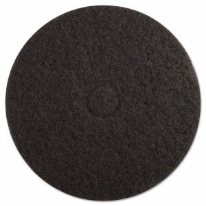 "Premiere Pads Floor Stripping Pad, 19"", Black (PAD4019BLA)"