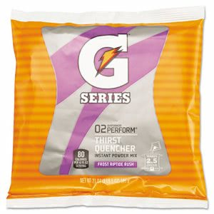 Gatorade Instant Powder, Frost, 21-Oz. Packet, 32 Packets (QOC 33673)