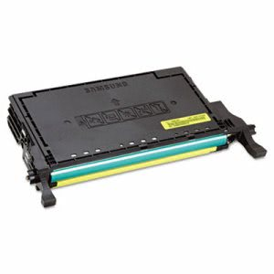 Samsung (CLT-Y508L) High-Yield Toner, 4,000 Page-Yield, Yellow (SASCLTY508L)