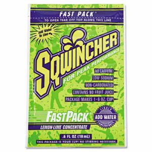Sqwincher Fast Pack Drink Package, Lemon-Lime, 200 Packets (SQW 015308LL)
