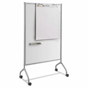 Safco Impromptu Magnetic Whiteboard Collaboration Screen, 42w x 24d x 72h, Gray (SAF8511GR)