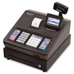 Sharp XE Series Electronic Cash Register, Thermal Printer, LCD (SHRXEA207)
