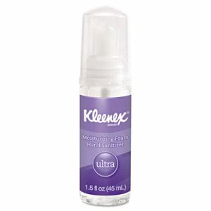Kleenex Ultra Moisturizing Foaming Hand Sanitizer, 1.5 oz Bottle (KCC34604EA)