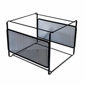 Universal Mesh File Frame Holder, Letter, Black (UNV20003)