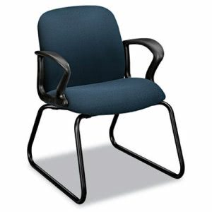Hon Gamut Series Sled Base Guest Chair, Cerulean (HON2073CU90T)