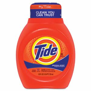 Tide 2X Liquid Laundry Detergent, Original Scent, 6 Bottles (PGC 13875CT)