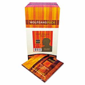 Wolfgang Puck Coffee Pods, Decaffeinated Reserve, 18 per box (WGP016432)