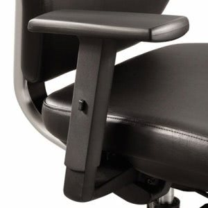 Safco Optional T-Pad Arms For Sol Task Chair, Black, 2/Carton (SAF7064BL)
