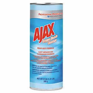 Ajax Heavy-Duty Oxygen Bleach Powder, 21-oz, 24 Cans (CPC 14278)