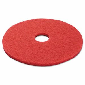 "17"" Red Buffing Pads, 5 Pads (PAD 4017 RED)"