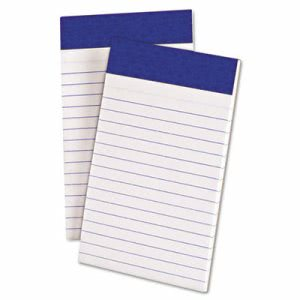 Ampad Evidence Top, Narrow Rule, 3 x 5, WE, 50-Sheet Pads/Pack, Dozen (TOP20208)