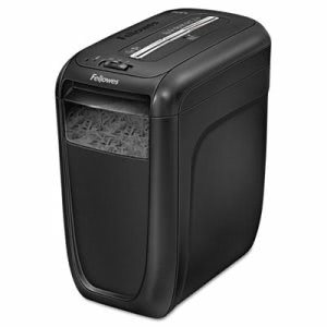 Fellowes Powershred Light-Duty Cross Shredder, 10 Sheet Capacity (FEL4606001)