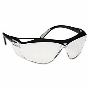 Kimberly Clark Envision Spectacles w/FogGard Plus, Black/Clear (JAK14478)