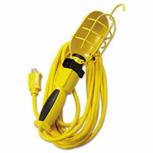 Polar/Solar Incandescent Light, 100W, 25ft 14/3 AWG Cord, Yellow (COC05657)