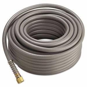 Jackson Pro-Flow Commercial Duty Hose, 5/8in x 100ft, Gray (JPT4003800)