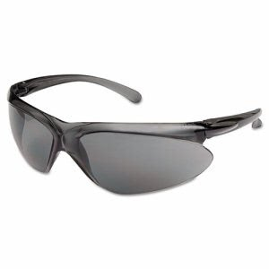 Sperian A400 Safety Glasses, Gray Frame, Gray Lens, Polycarbonate (FNDA401)