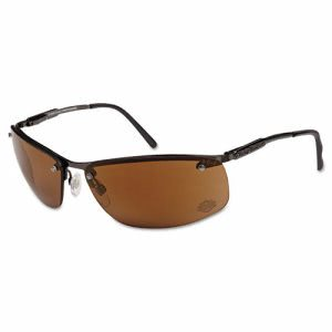 Harley-Davidson HD 700 Series Safety Glasses, Gunmetal w/Brown Lens (HRDHD700)