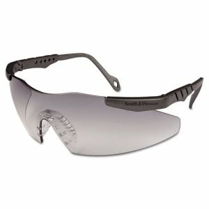 Smith & Wesson Magnum 3G Indoor/Outdoor Safety Glasses, Metallic Gray (SMW19831)