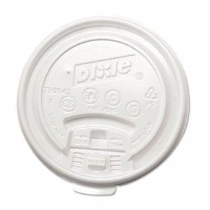 Dixie Tear-Back Plastic Lid For 12 and 16-oz. Cups, 1,000 Lids (DIX TB9542)