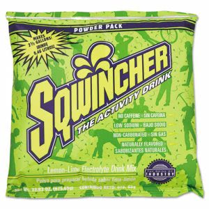 Sqwincher Powder Electrolyte Drink,Lemon-Lime, 32 Packets (SQW016043LL)