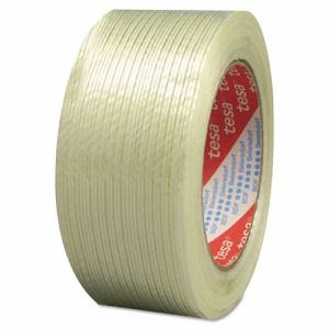 "Tesa 319 Performance Grade Filament Strapping Tape, 3/4"" x 60yd, Fiberglass (TSA533190000100)"