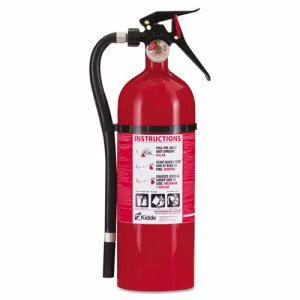 Kidde Service Lite Multi-Purpose Dry Chemical Fire Extinguisher, 5lb, 3-A, 40-B:C (KID21006204)