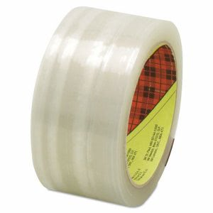 3m Scotch High Performance Box Sealing Tape, Clear, 48mm x 50m (MMM2120072368)