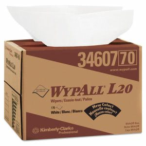 Wypall L20 All Purpose Wipers, White, 176 Wipers (KCC34607)