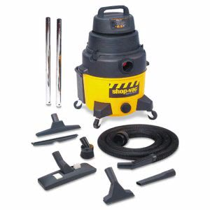 Shop-vac  8 Gallon, Industrial Wet/Dry Vacuum, 6.5hp, Black/Yellow (SHO9252810)
