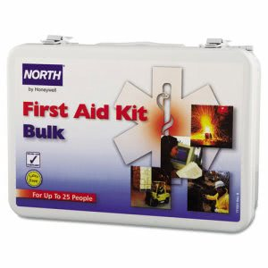North Safety 25-Person Bulk First Aid Kit, Metal Case (NSP0197030002L)