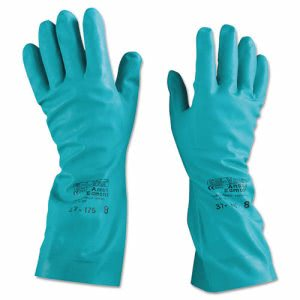 Ansellpro Sol-Vex Nitrile Gloves, Size 8 (ANS371758)