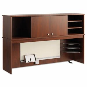 Office Connect by Bush Furniture Envoy Series Hutch, Hansen Cherry (BSHPR76561)