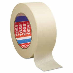 "Tesa General Purpose Masking Tape, 2"" x 60yd, 24 Rolls per Case(TSA501240000100)"