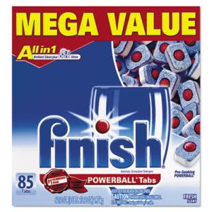 Finish Powerball Dishwasher Tabs, Fresh Scent, 85 Count (RAC83766)