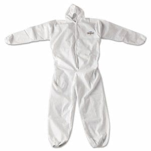 KleenGuard A20 Breathable Particle Protection Coveralls, 2XL, White (KCC49115)