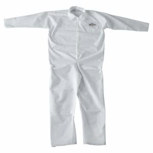 Kimberly Clark Kleenguard Coveralls, XXL, Zippered, 24 Coveralls (KCC 49005)