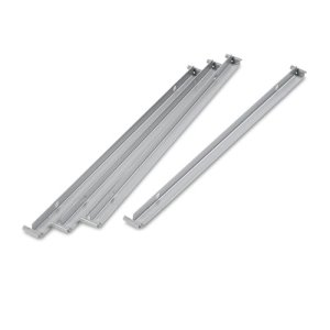 "Alera Two Row Hangrails for 30"" or 36"" Files, Aluminum (ALELF3036)"