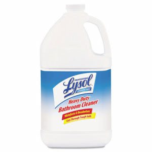 Lysol Disinfectant Heavy-Duty Bathroom Cleaner, 1 Gallon - 4 Bottles (REC 94201)