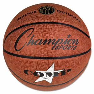 "Champion Sports Composite Basketball, Official Junior, 27.75"", Brown (CSISB1040)"