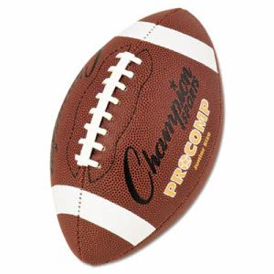 "Champion Sports Pro Composite Football, Junior Size, 20.75"", Brown (CSICF300)"