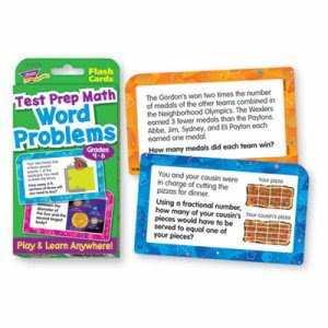 Trend Challenge Flash Cards, Math Grades, 56 per Pack (TEPT24014)