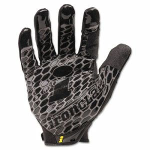 Ironclad Box Handler Gloves, 1 Pair, Black, Large (IRNBHG04L)