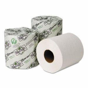 EcoSoft Green Seal 2-Ply Standard Bathroom Tissue, 96 Rolls (WAU 54900)