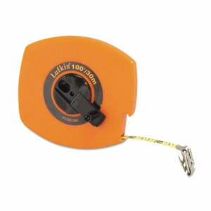 Lufkin Hi-Viz Universal Lightweight Measuring Tape, Orange (LUFHV30CME)